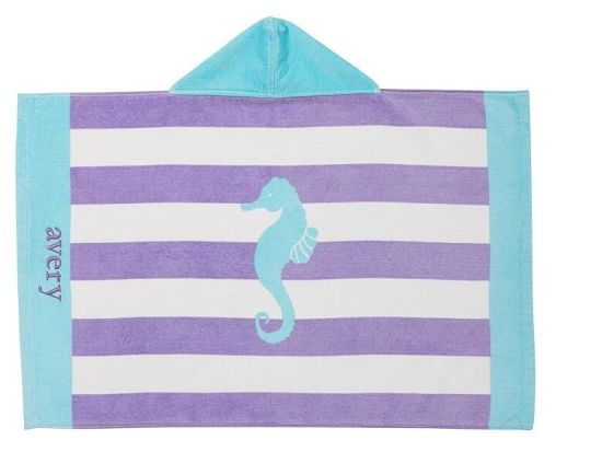 Wholesale Customized Terry Cloth Poncho Hooded Beach Towel pictures & photos