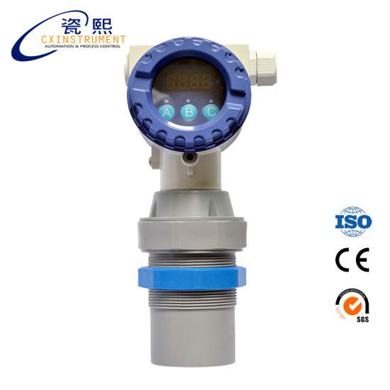 China Wireless Water Tank Level Sensor Local LCD Display