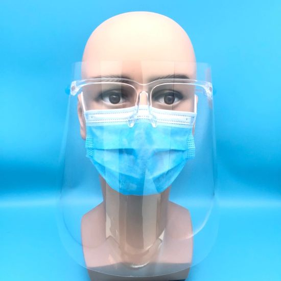 Chinese Suppliers Anti-Oil Splashing Protection Glasses Frame Type Face Shield