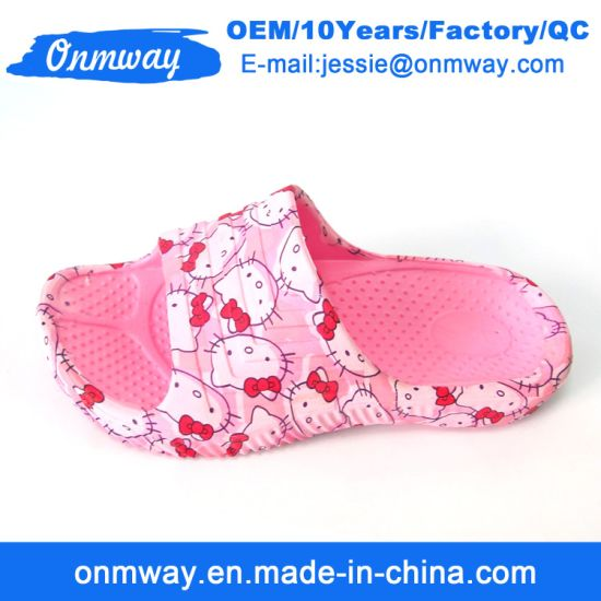d92723555 China Comfortable Outdoor Casual EVA Unisex and Kids Slippers ...