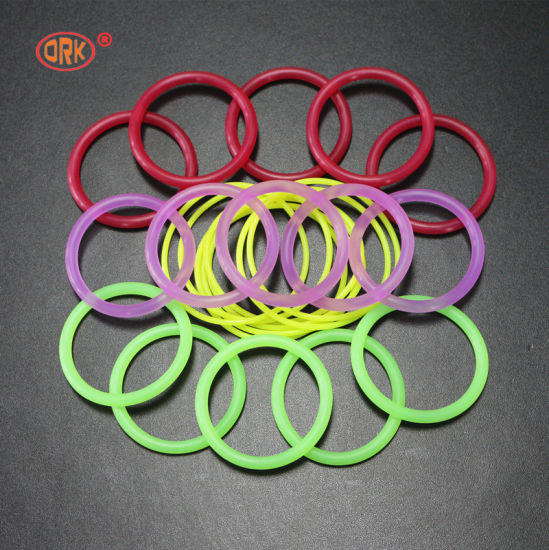 China Clear Silicone Colored Rubber O Rings - China Colored O Rings ...