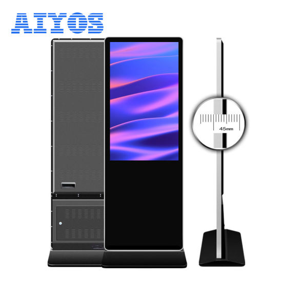 China Special Offer 43 Inch Android/Windows Floor Stand LCD
