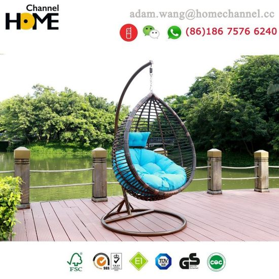 2018 New Design Outdoor Modern Garden Swing Chair 6081