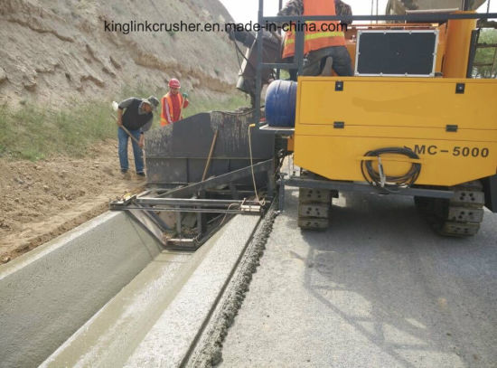 China Slipform Concrete Curbing Machine Concrete Placer