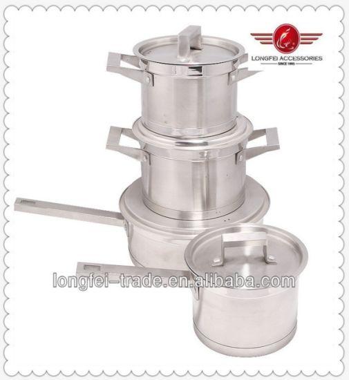 Food Grade Indian Stainless Steel Hot Pot Pan Set