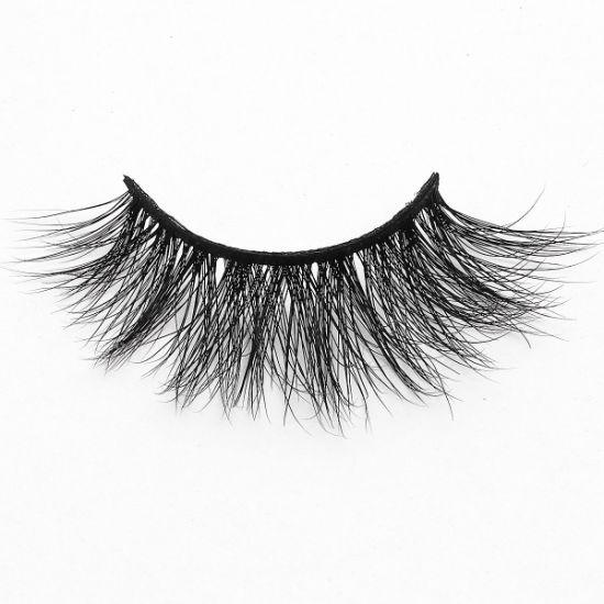 3D Mink Flutter Lashes Individual Handmade Natural Multilayered Effect Eyelashes Extension