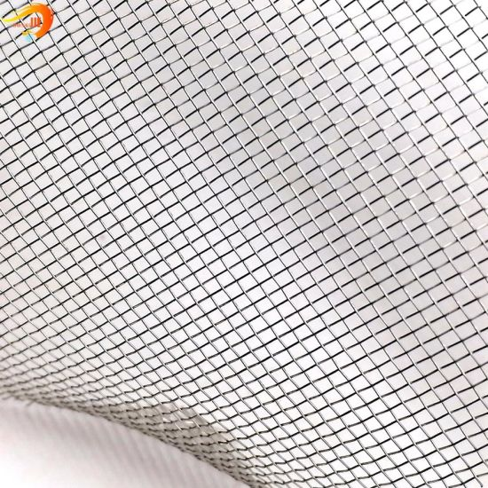 Plain Weave AISI SUS304 316 316L Stainless Steel Woven Wire Mesh for Filtration