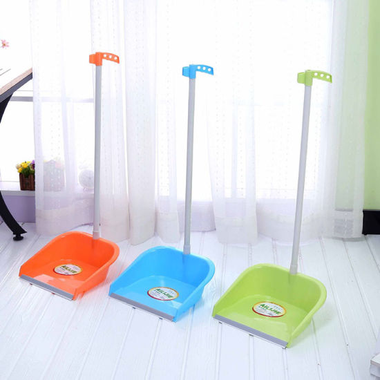 High Quality Multicolor Floor Cleaning Tool Dustpan with Plastic Handle