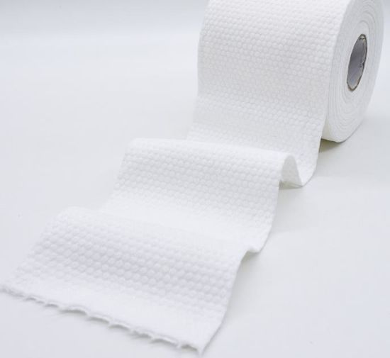 Nonwoven Fabrics Large Cotton Facial Pads pictures & photos