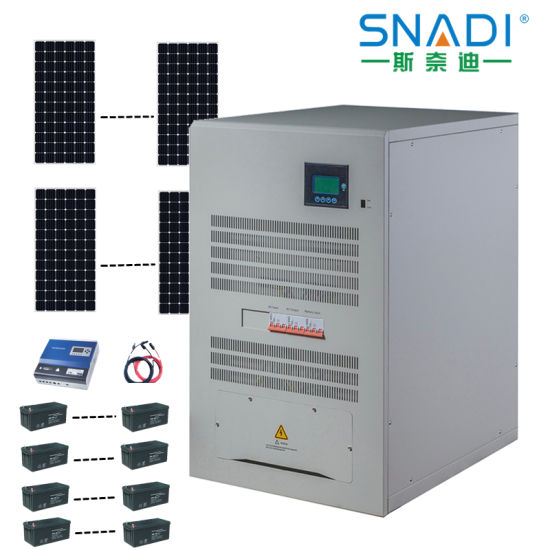 20kw Three-Phase Low Frequency IGBT Solar Inverter for Industrial Power Supply