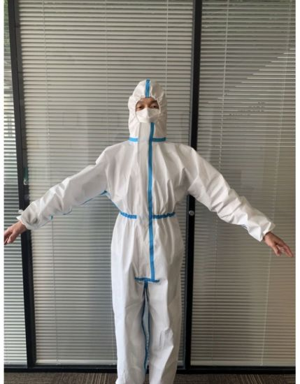 Protect Garment Disposable Scrubs Industry Medical Isolation Gown Disposable Protective Coverall
