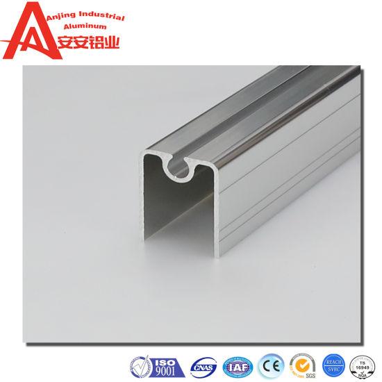 6063 T5 Aluminum Guide Rail Slide for Shower Room Slide Door