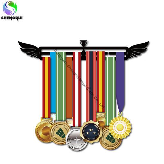 Factory Sport Medal Hanger Sturdy Metal Medal Display Holder