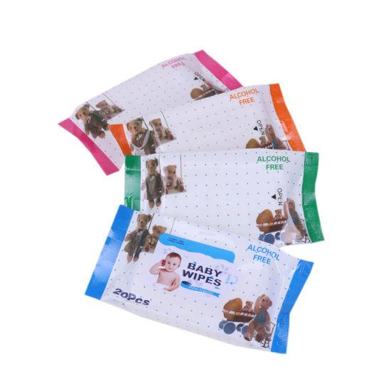 Wholesale Soft Spunlace No-Woven Disposable OEM Wet Baby Wipes
