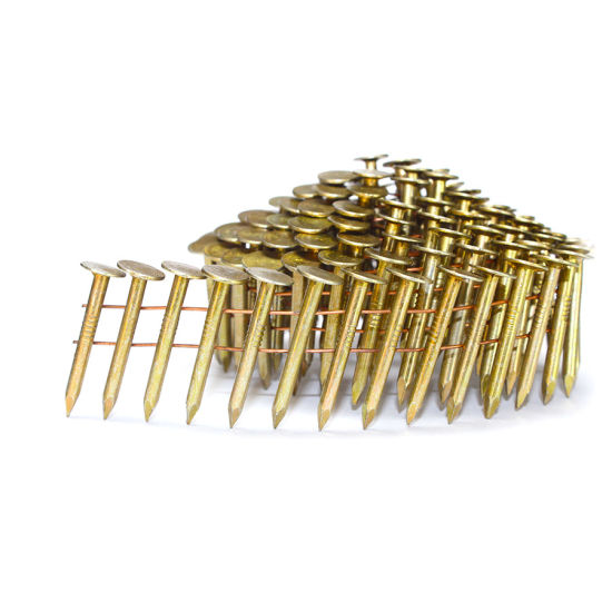 China 11 Gauge Coil Roofing Nails 1 1 2 In X 0 120 In China Roofing Nails Coil Roofing Nails