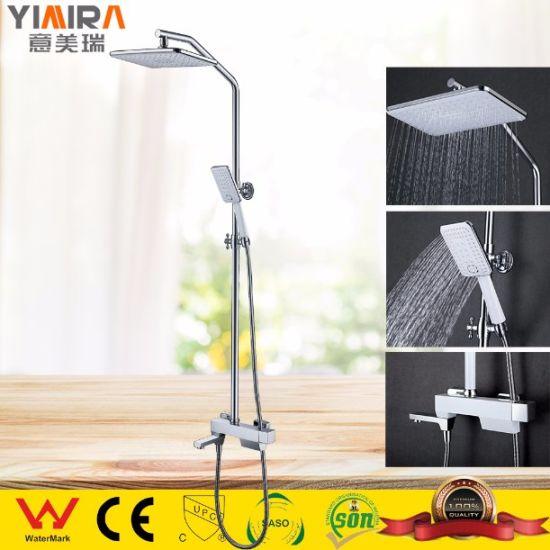 New Design Chrome Wholesale Bathroom Toilet Water Faucet Rain Shower Set