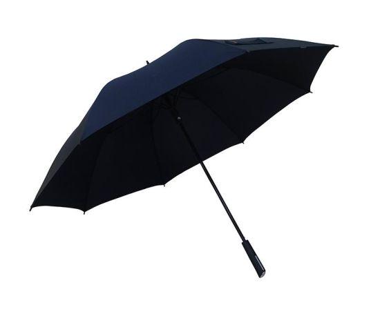 30 Inch Navy Plastic Handle Windproof Golf Umbrella