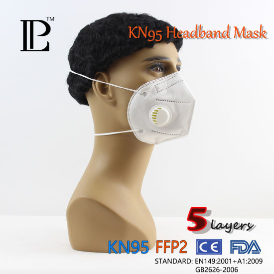 N95 Kn95 Ffp2 Particulate Respirator Face Mask Ce Anti Dust