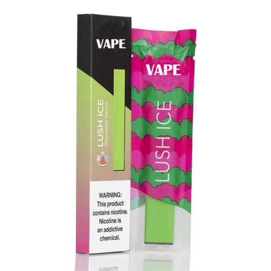 Wholesale Health Nicotine Salt Juice 1.2ml Disposable Vape Electronic Cigarette with Security Code
