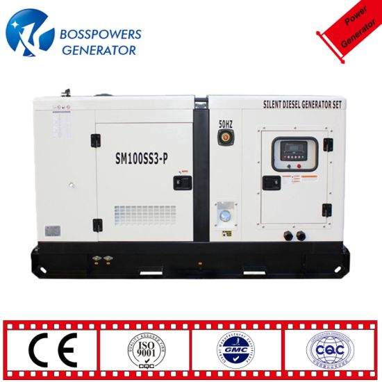 Factory Price Three Phase 125kVA 150kVA 180kVA 200kVA Standby Power Industrial Super Silent Perkins Diesel Power Generator with ATS Ce ISO Approved