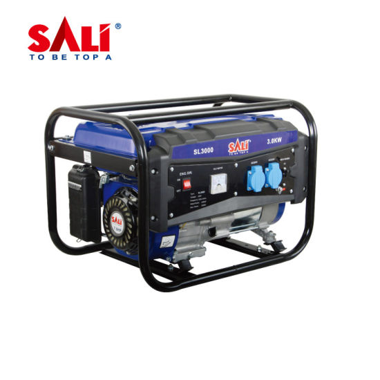 Sali SL3000 3000W Brand Porfessional Power Tools 120mmgasoline Engine Generator Machine