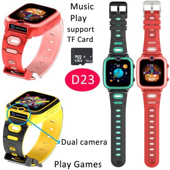 Wholesale OEM Kids Touch Screen MP3 Camera Children Smartwatch Kid Game Smart Watch D23