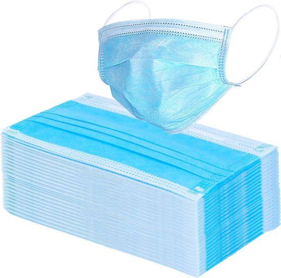 Wholesale Anti Virus Flu Outdoor Protective Disposable Non Woven 3ply Face Mask