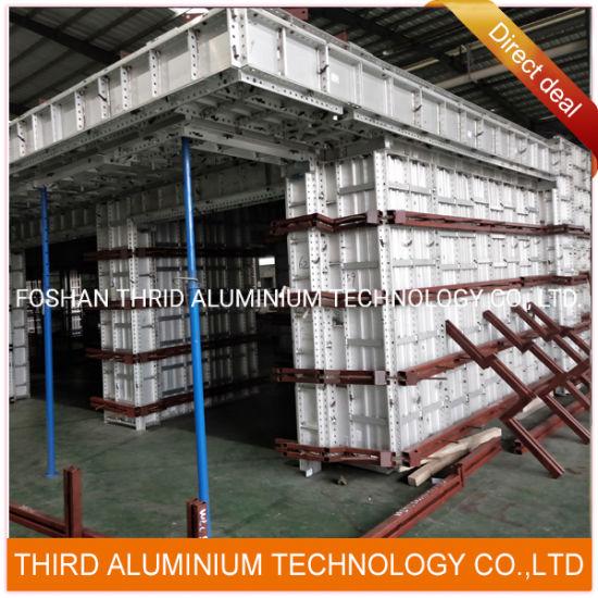 Aluminium Alloy Temper 6061 T6 Aluminum Formwork Extrusion Profile