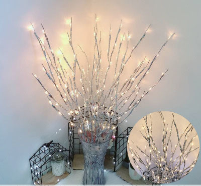Wholesale Twig Branch LED Lights Artificial Tree Branches Lamp for Home Holiday Party Night Indoor Decoration