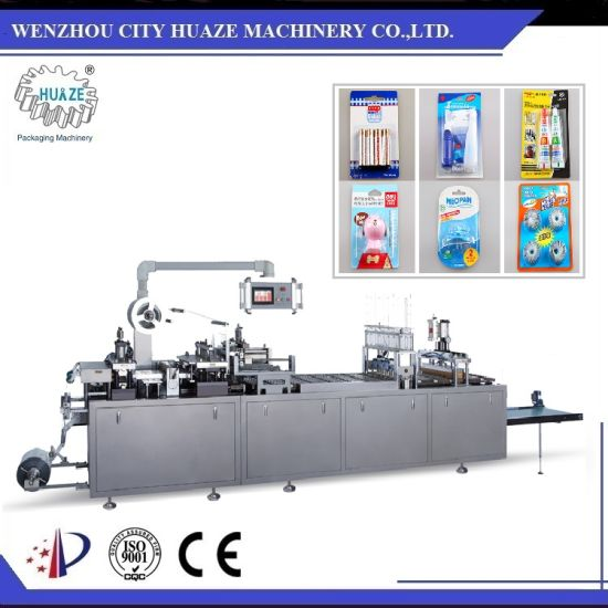 Full Automatic Household Products Blister Card Packing Machine