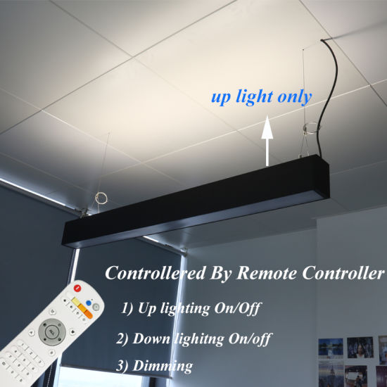 Suspended Dimmable up & Down LED Linear Light with X Connector pictures & photos