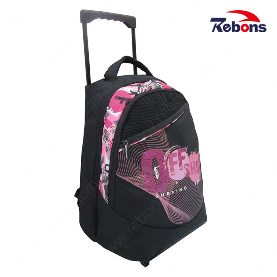 New Cartoon Customized Printed Kids Trolley School Bags pictures   photos 7ae00bbc61a9a
