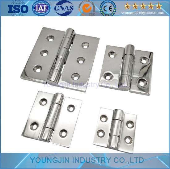 Stainless Steel 304 316 Hardware Truck Trailer Flush Door Refrigerator Heavy Duty Hinge