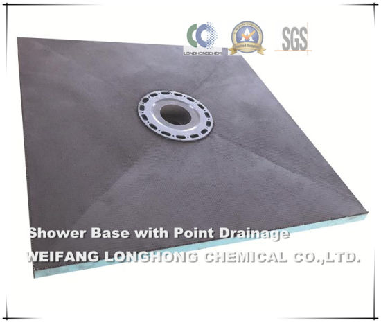 XPS Wall Insulation and Floor Waterproof Tile Backer Foam Board pictures & photos