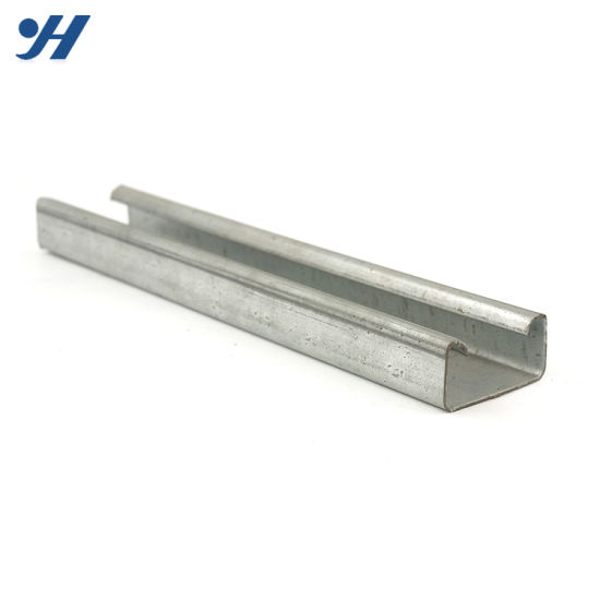 Hot DIP Good Reputation Steel Material C Steel Channel Weight Calculator