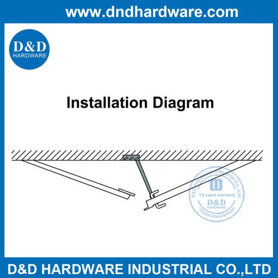 Stainless Steel 304 Concealed Door Selector for Double Door (DDDR003)  sc 1 st  D\u0026D Hardware Industrial Co. Ltd. & China Stainless Steel 304 Concealed Door Selector for Double Door ...