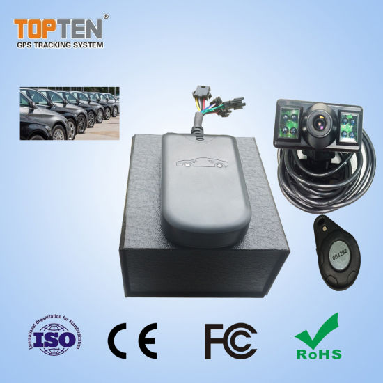 digital gps tracker with speed limited and driver identity record (gt08-l)  pictures