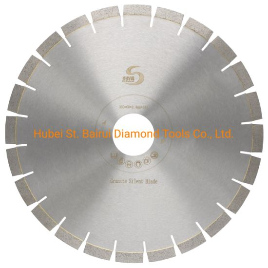 350mm Silent Granite Segmented Diamond Blade with Long Life