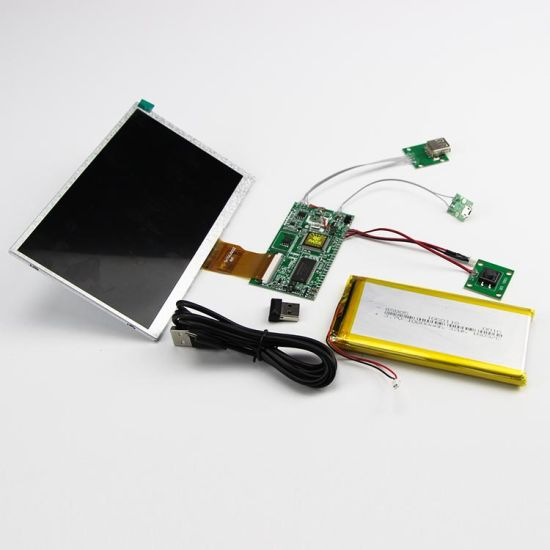 Indoor Full Color TV Panel LCD Video Display Module for Greeting Cards