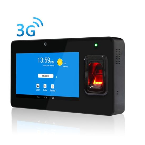 China Android Terminal Fingerprint Time Attendance System