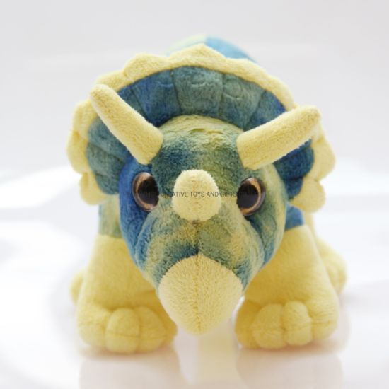 Triceratops Plush Toy Dino