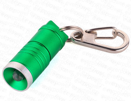 Mini Assorted Colors Aluminum Car Keychain LED Flashlight Torch pictures & photos