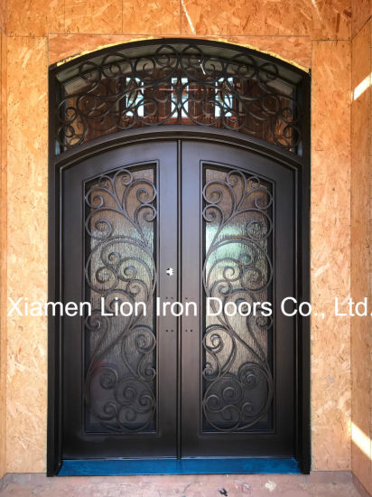 New Design Safety Iron Entrance Door Steel Single Front Doors