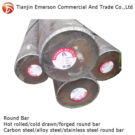 Ready Stock Factory Price 8mm 10mm 12mm S45c C45 1045 Forged Iron Carbon Steel Round Bar
