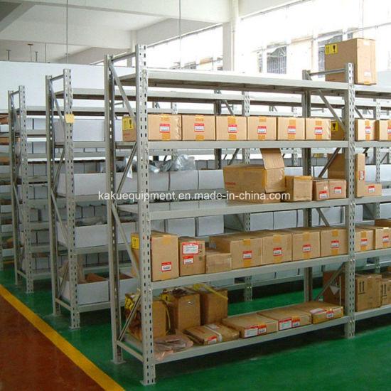 Metal Medium Duty Long Span Rack for Warehouse Storage