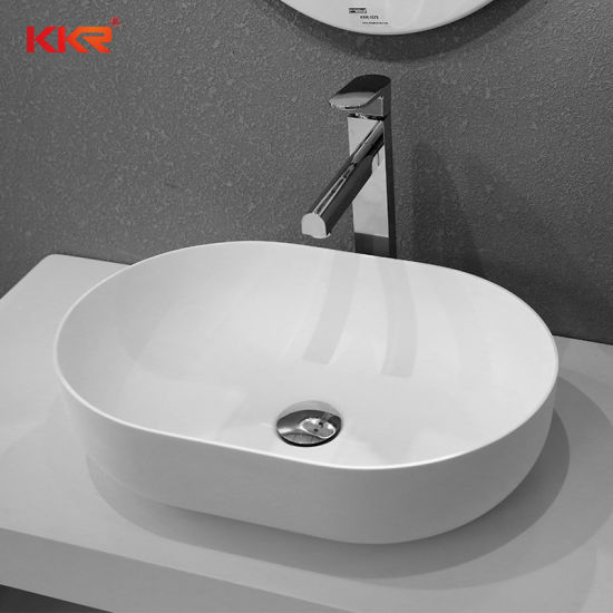 Corian Solid Surface Wall Mounted Cloakroom Sink