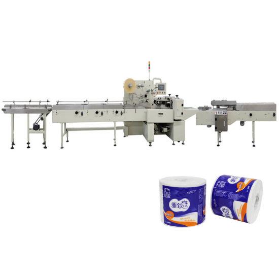 Heat Sealing Ironing Toilet Tissue Paper Packaging Machine