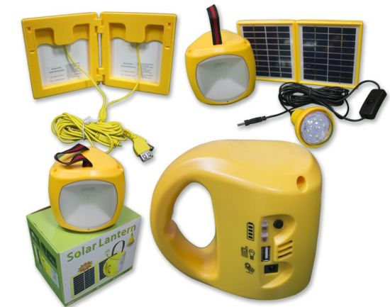 Mini LED Solar Hand Home Light pictures & photos