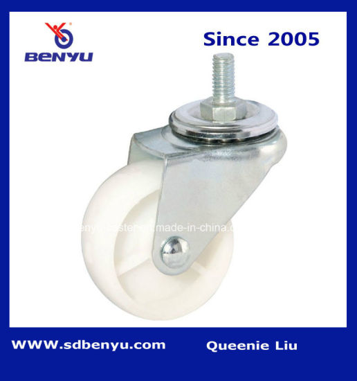 Light Duty Screw Nylon Swivel Caster
