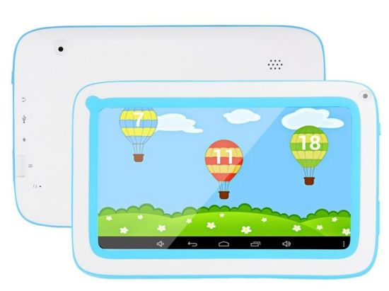 7 Inch Kids Tablet Quad Core Android 5.1 Kids Education PC Tablet pictures & photos